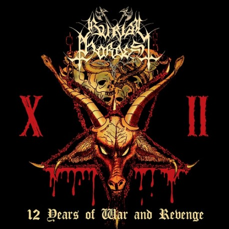 BURIAL HORDES - 12 years of War and Revenge - CD