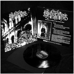 MUTIILATION - Remains Of A Ruined, Dead, Cursed Soul - VINYL LP