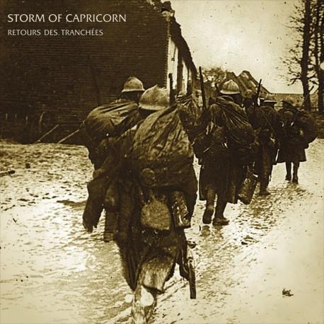 STORM OF CAPRICORN - Retour des Tranchées - VINYL LP (lim.200)