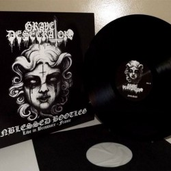 GRAVE DESECRATOR - Unblessed Bootleg Live in France - VINYL LP Black