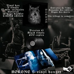 BORGNE - Vinyl Box version 1 - vinyls Noirs 200 exemplaires + digital (PREORDER)