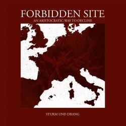 FORBIDDEN SITE - Sturm Und Drang - CD DIGIPAK