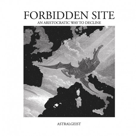 FORBIDDEN SITE - Astralgeist - VINYL DOUBLE LP white