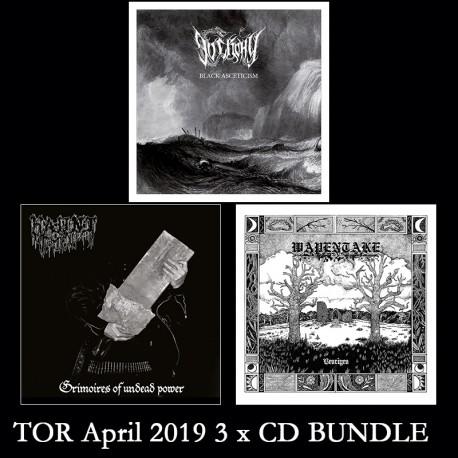 TOR Avril 2019 - 3 x CD BUNDLE