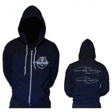 DIAPSIQUIR - Hooded sweat shirt with zip