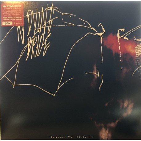 MY DYING BRIDE - Towards The Sinister - VINYL LP Red