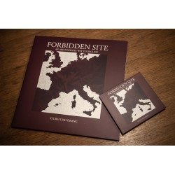 FORBIDDEN SITE - Sturm Und Drang - VINYL DOUBLE LP Red