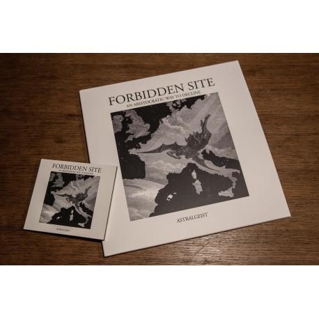 FORBIDDEN SITE - Astralgeist - VINYL DOUBLE LP white