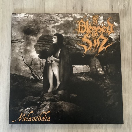 BLESSED IN SIN - Melancholia - VINYL LP Black (lim.200) - PREORDER out 30.11.2020