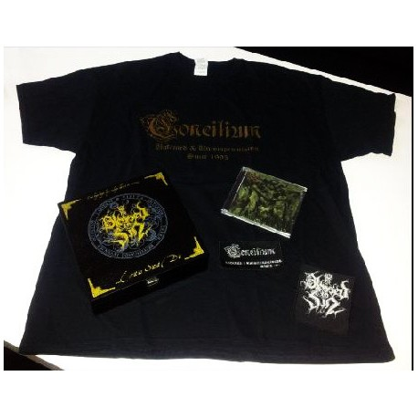 BLESSED IN SIN - Eritis Sicut Dii - CD BOX SHIRT size M