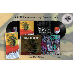 GRIEF - Come to Grief (extended) - VINYL DOUBLE LP Swamp Green