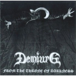 DEMIURG - From The Throne Of Darkness - CD
