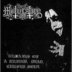 MUTIILATION - Remains of a ruined, dead, cursed soul - CD (Dark Adversary Productions)
