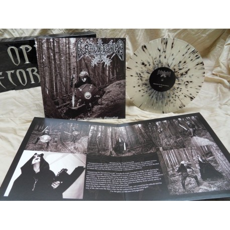 GRAVELAND - Sharpening the Thousand Swords - CLEAR SPLATTER VINYL lim.100