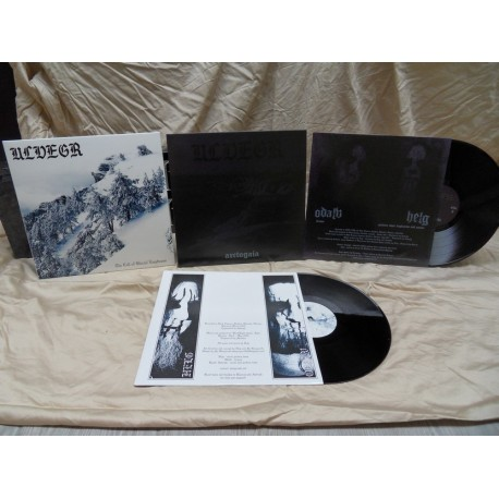 ULVEGR - The Call of Glacial Emptiness - BLACK VINYL lim.200