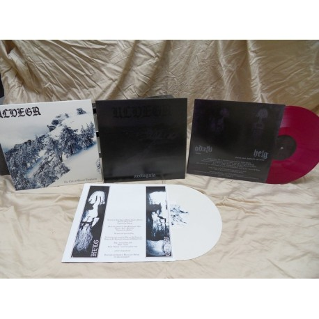 ULVEGR - The Call of Glacial Emptiness - WHITE VINYL lim.100