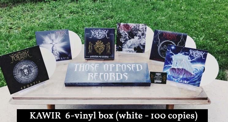 Kawir Vinyl Box White