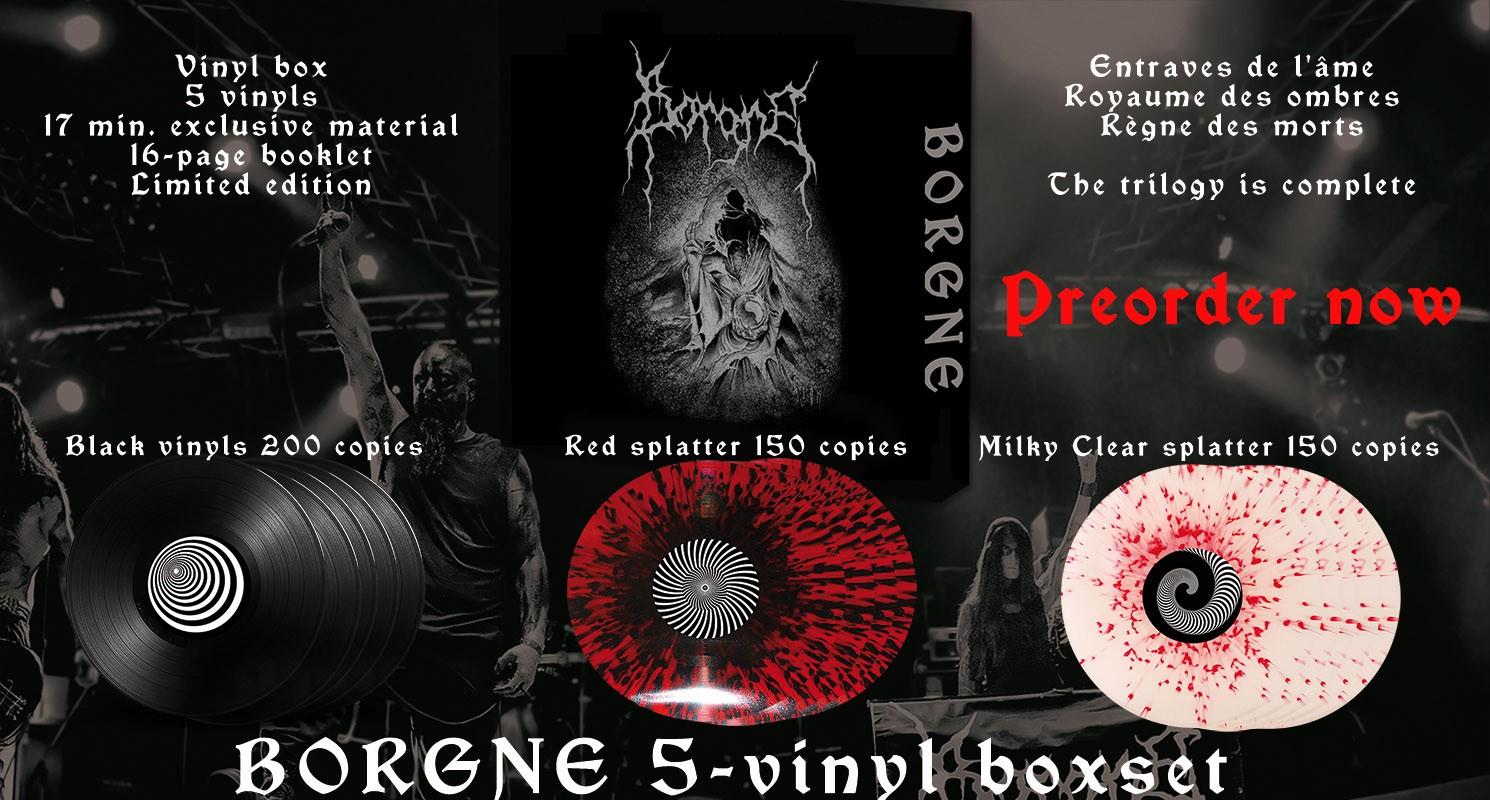 BORGNE - Vinyl box