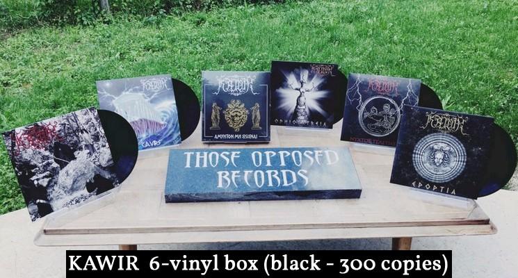 Kawir Vinyl Box Black